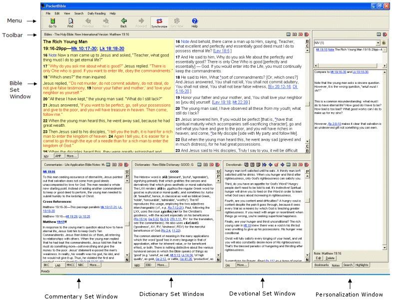 Laridian - PocketBible for Windows