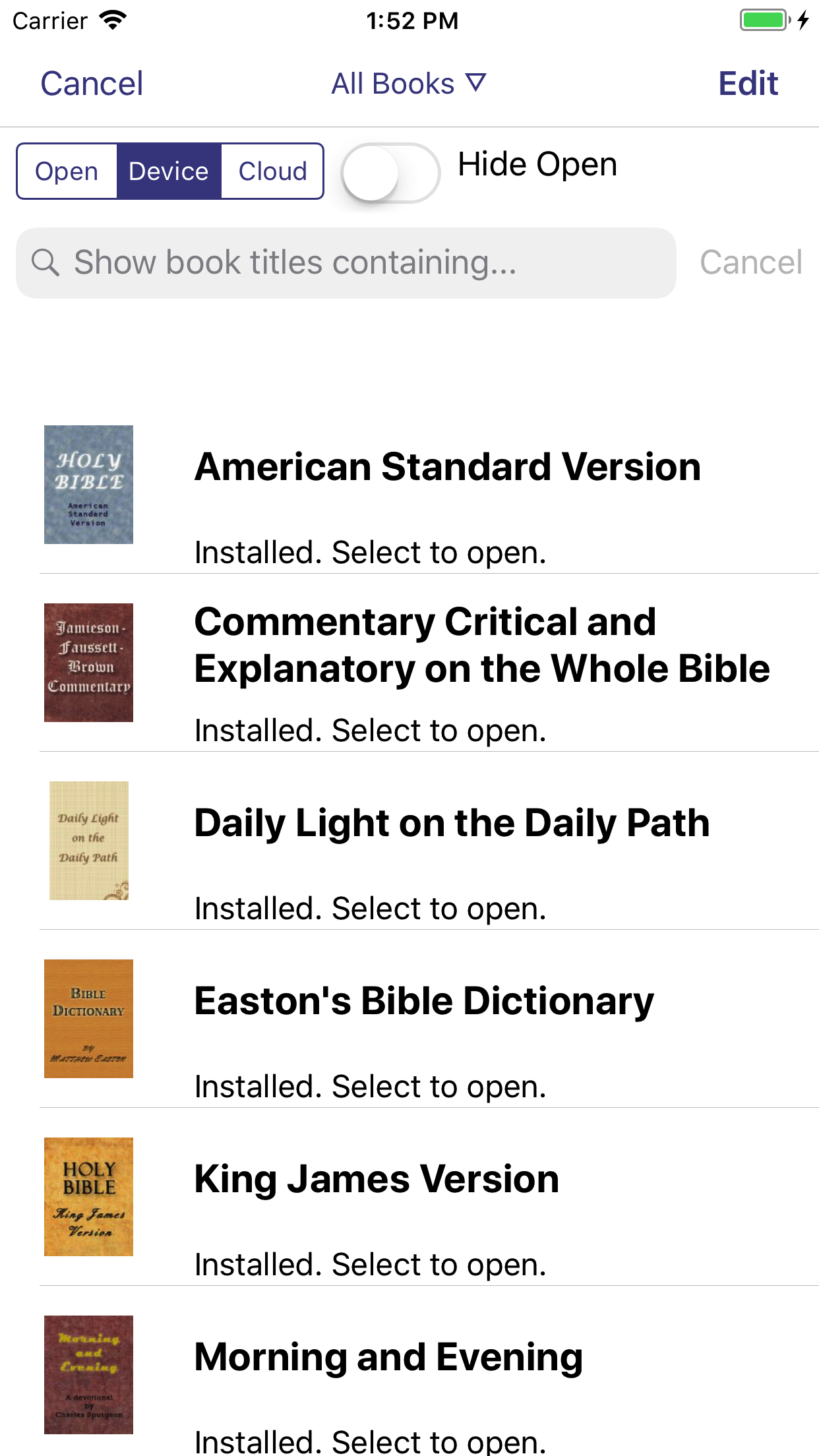 Laridian - PocketBible 4 for iPhone and iPad